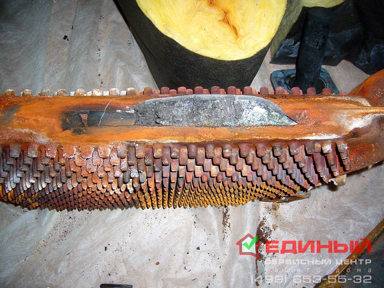 Теплообменник лопнул у котла Кожухотрубный конденсатор ONDA L 19.304.2438 Нижний Тагил